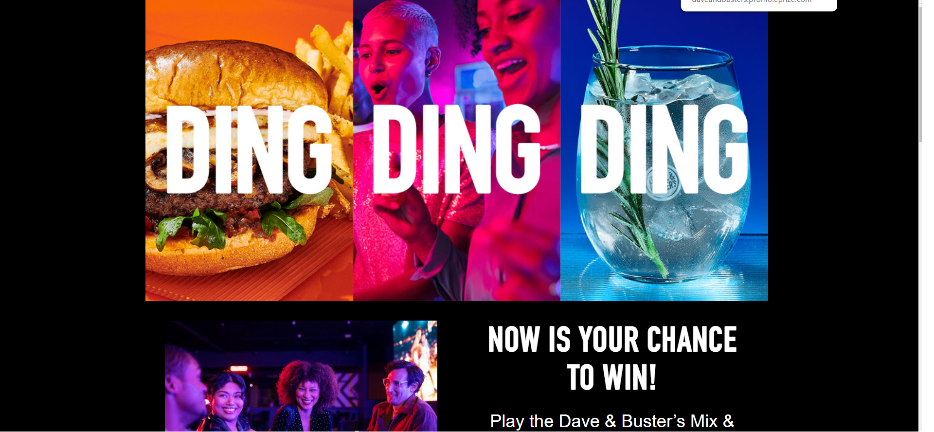 DAVE & BUSTER'S SUMMER SWEEPSTAKES